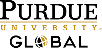 Logo of Purdue University Global for our ranking of fire science associate's degrees