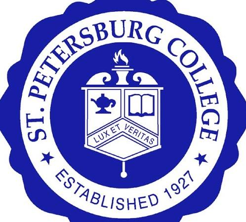 Logo of St. Petersburg College for our ranking of fire science associate's degrees