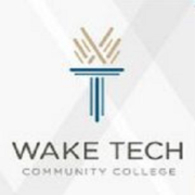 Logo of Wake Tech for our ranking of online associate's advertising graphic design