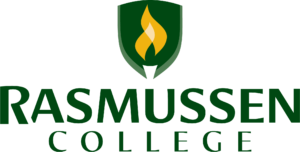 Logo for our profile of rasmussen-college