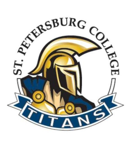 Logo of St. Petersburg College for our ranking of best associate's in web development