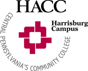 Logo of HACC for our ranking of best associate's in web development