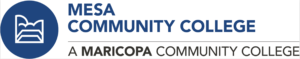 Logo of Mesa CC for our ranking of best associate's in web development