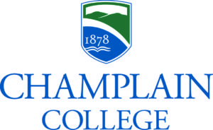 Logo of Champlain College for our ranking of best associate's in web development