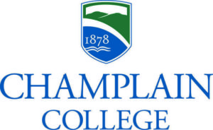 Logo for our profile of Champlain College