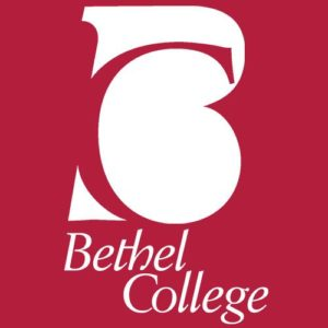 Logo of Bethel College for our ranking of Tiny Colleges