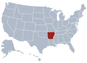 Image of Arkansas for our ranking of free college