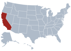 Image of California for our ranking of free college