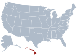 Image of Hawaii for our ranking of free college