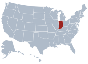 Image of Indiana for our ranking of free college