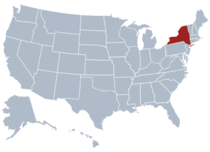 Image of New York for our ranking of free college