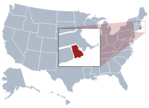 Image of Rhode Island for our ranking of free college