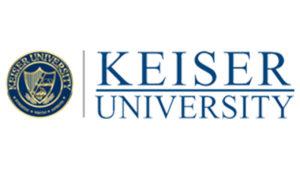 Logo of Keiser University for our ranking of best ADN nursing programs