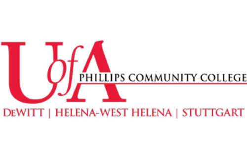 Logo of U of A Phillips Community College for our ranking of MIS associate's degrees