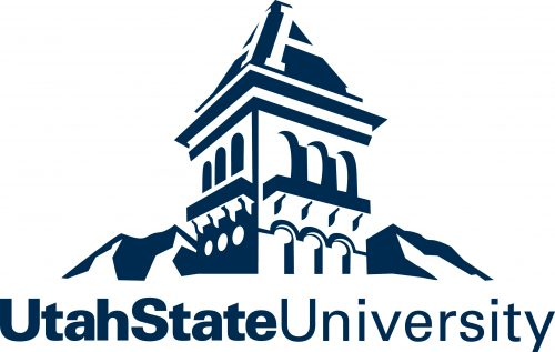 Logo of Utah State for our ranking of top online associate's in agriculture