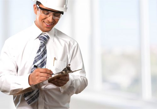 Image of worker for our ranking of best associate's in occupational health and safety