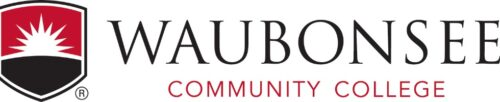 Logo of Waubonsee Community College for our ranking of top associate's in HR