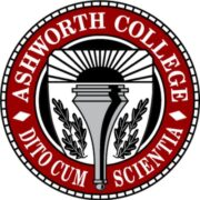 Logo of Ashworth College for our ranking of top online trade schools