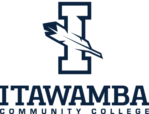 Logo for Itawamba Community College for our ranking of public health associate's