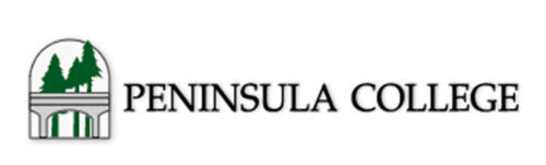 Logo of Peninsula College for our ranking of best certificates in carpentry