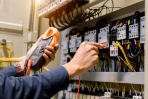 Image of circuits for our FAQ on electrical engineering tech
