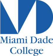 a logo of Miami Dade College for our ranking of Veterinary Tech Associate's programs