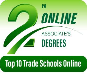 Top 10 Trade Schools Online Badge