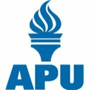 This image shows the logo for American Public University for our ranking of affordable online fire science associate's degrees.