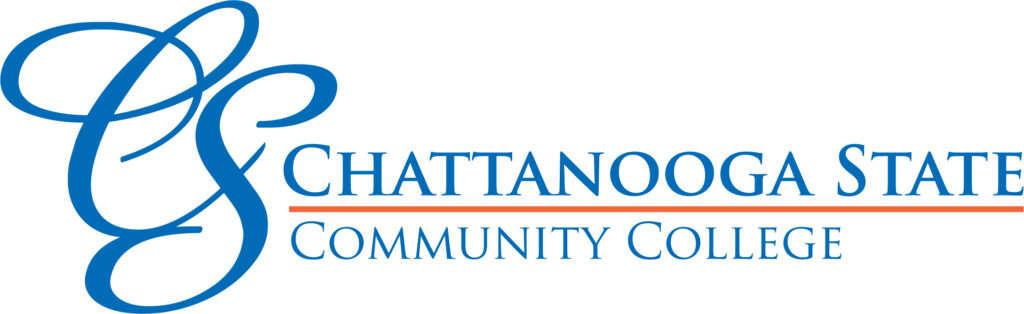 This image shows the logo for Chattanooga State Community College for our ranking of affordable online fire science associate's degrees.