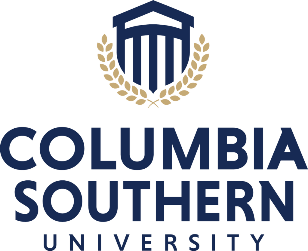 This image shows the logo for Columbia Southern University for our ranking of affordable online fire science associate's degrees.