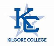 This image shows the logo for Kilgore College for our ranking of affordable online fire science associate's degrees.