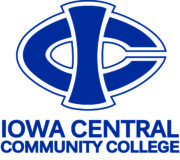 an image of the Iowa Central Community College logo for our article about social work associate's degrees