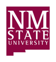 an image of the New Mexico State University logo for our article about social work associate's degrees