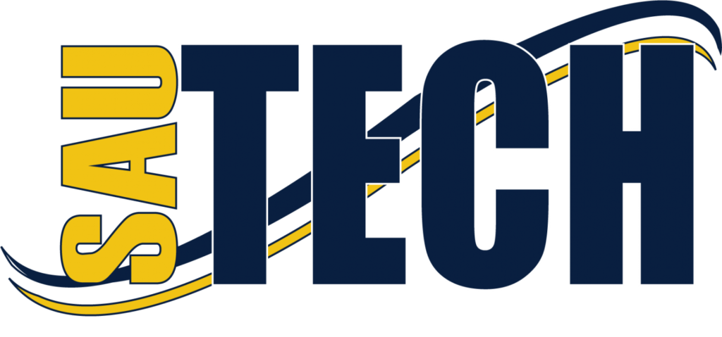 This image shows the logo for Southern Arkansas University Tech for our ranking of affordable online fire science associate's degrees.