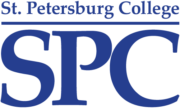 This image shows the logo for St. Petersburg College for our ranking of affordable online fire science associate's degrees.