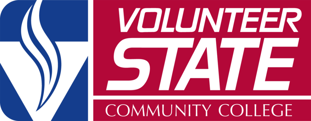 This image shows the logo for Volunteer State Community College for our ranking of affordable online fire science associate's degrees.