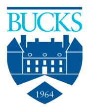 an image of the Bucks County Community College logo for our article about social work associate's degrees